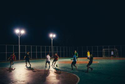 Malonogometna ekipa na županijskom natjecanju