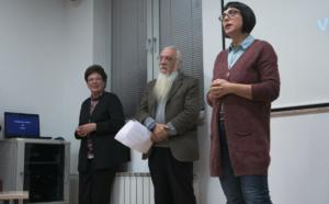 U ime profesora Klasične gimnazije govorila je V. Čutura.