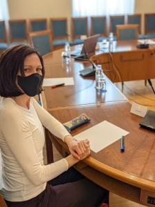 Profesorica Ana Sladoljev u igri Kolaža