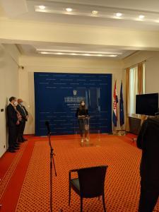 Pozdravni govor zastupnice Benčić