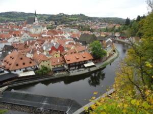 Česky Krumlov bio je posljednji grad u Češkoj koji smo posjetili.