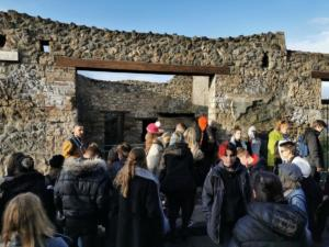 Razgledavanje Pompeja