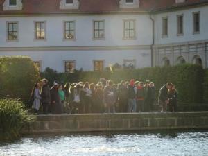 Šetnja uz jedan od rukavaca rijeke Vltave.
